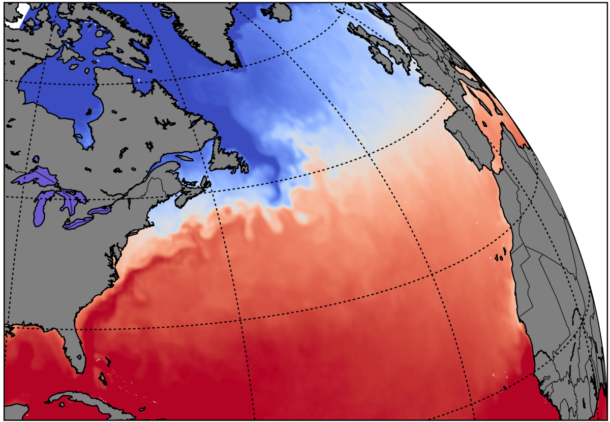 Visualising the Gulf Stream